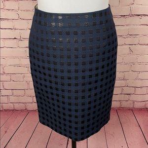 Banana Republic Blue Skirt Size 8